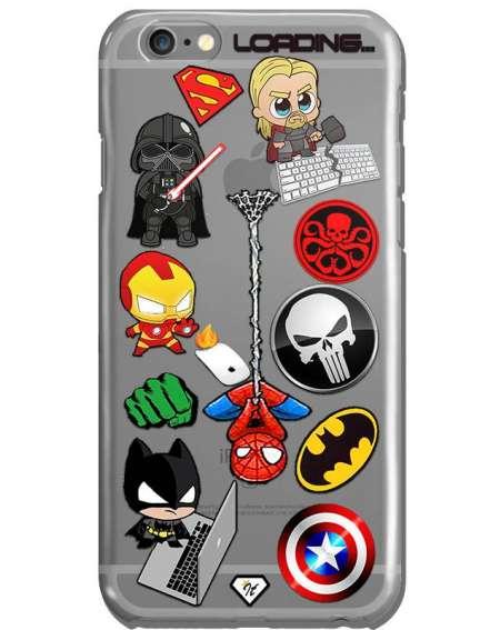 Funda superhéroes