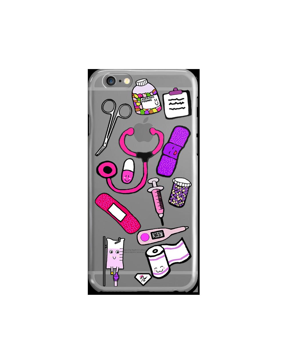 Funda enfermería pink