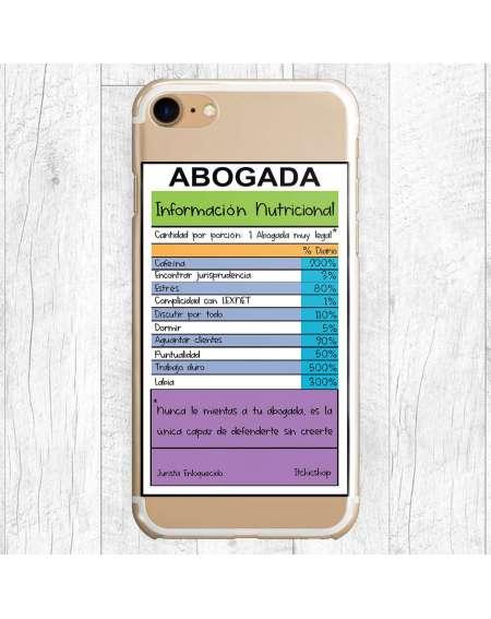 Información nutricional ABOGADA